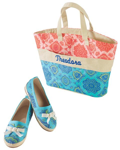 Theodora & Callum bag and shoes
