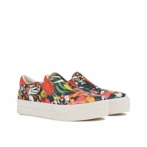 Floral sneakers embed 7