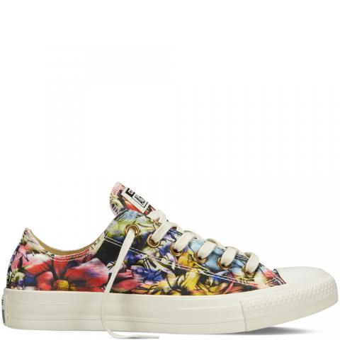 Floral sneakers embed 4
