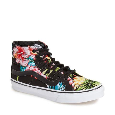 Floral sneakers embed 5