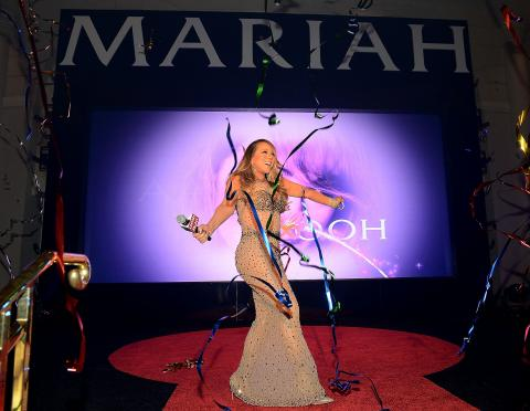 Mariah Carey Celebrates Official Arrival At Caesars Palace In Las Vegas