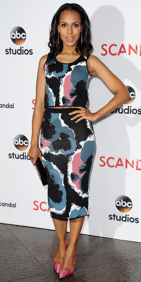 Kerry Washington in Timo Weiland