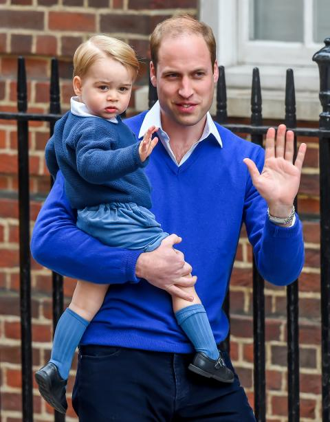The Duke And Duchess Of Cambridge Welcome Their Second Child