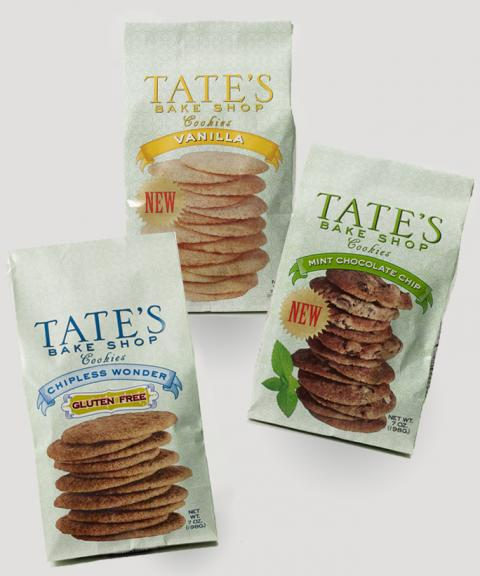 Tate's Cookies – New Flavors