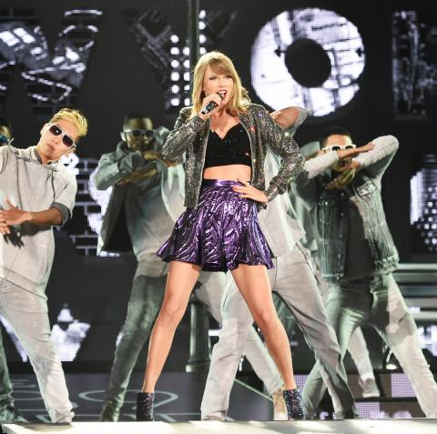 Taylor Swift 1989 Tour Costumes