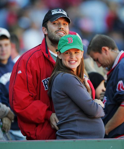 Ben Affleck and wife Jennifer Garner, who's expecting their