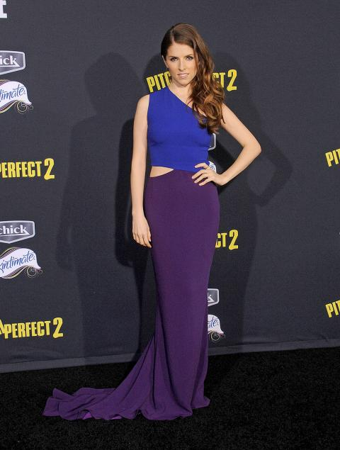 Anna Kendrick at Pitch Perfect 2 premiere