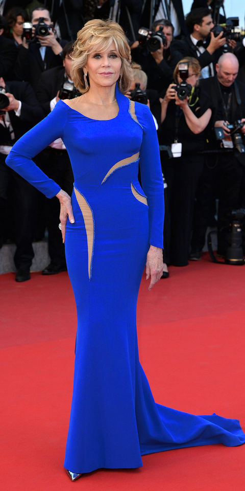Jane Fonda S Red Carpet Style Instyle Com