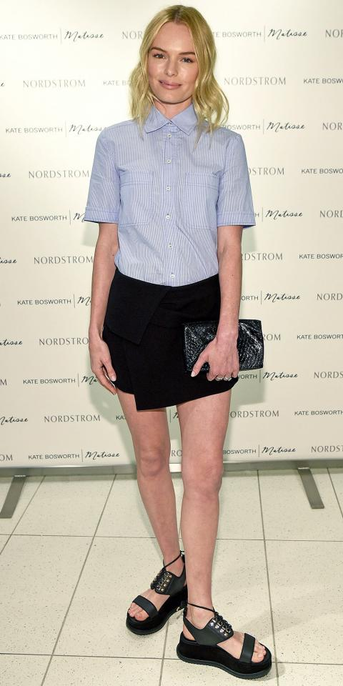 Kate Bosworth Celebrates Kate Bosworth | Matisse Footwear Launch At Nordstrom At The Grove