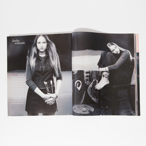 Mary Ellen Mark in InStyle