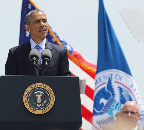 U.S. President Barack Obama - keynote address at commencement - U.S. Coast Guard Academy - May 20, 2015