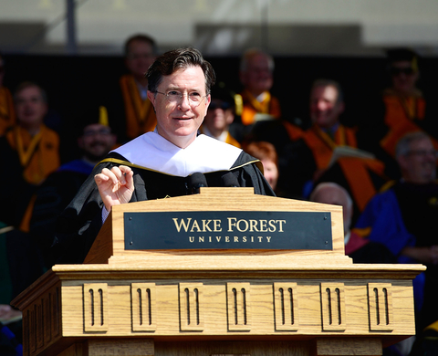 Wake Forest University Commencement 2015