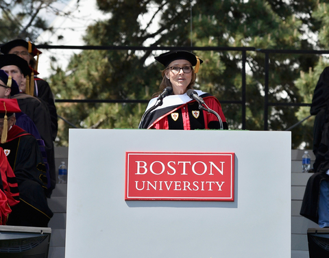 2015 Boston University Commencement