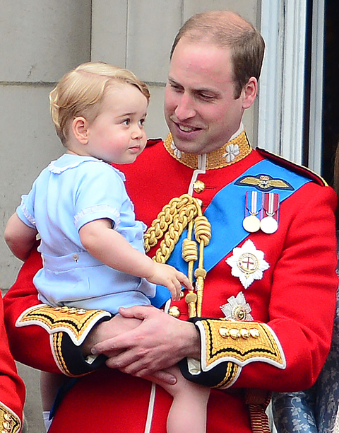 Royal family, trooping of the colour