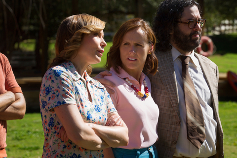 "Nina Hellman, Molly Shannon and Judah Friedlander - ""Wet Hot American Summer: First Day Of Camp"