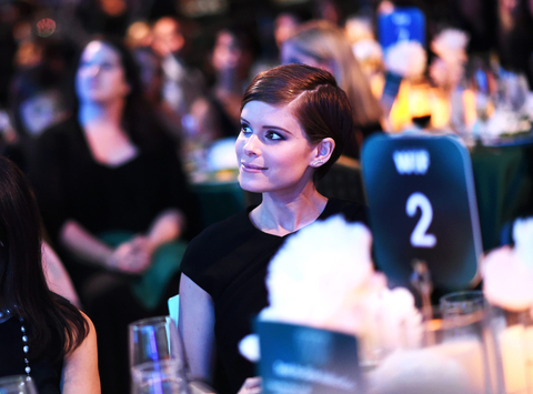 Honoree Kate Mara attends the Women In Film 2015 Crystal + Lucy Awards Presented by Max Mara, BMW of North America, and Tiffany & Co. at the Hyatt Regency Century Plaza on June 16, 2015 in Century City, California.