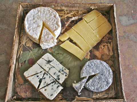 <p>The Perfect Cheese Plate</p>