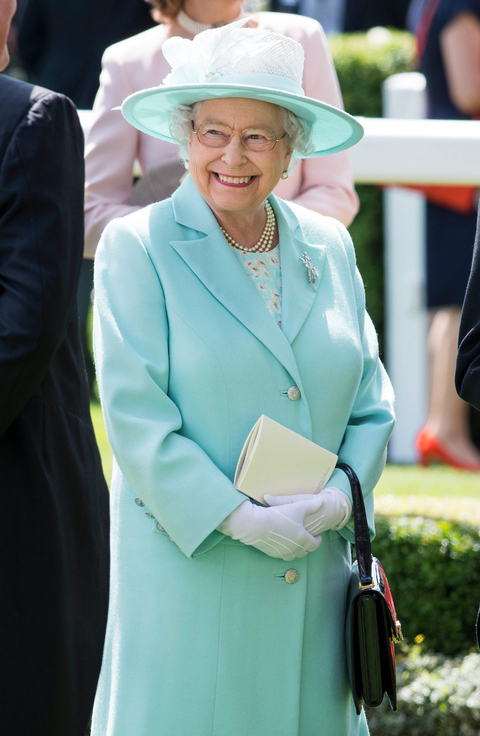 Queen Elizabeth II on day 3 of Royal Ascot at Ascot Racecourse on June 18, 2015 in Ascot, England.