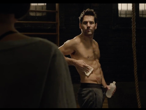 Ant Man - Paul Rudd - abs