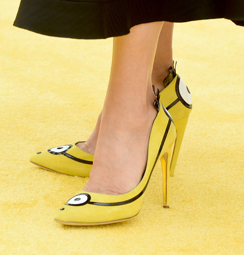 Premiere Of Universal Pictures And Illumination Entertainment's  Minions  - Red Carpet
