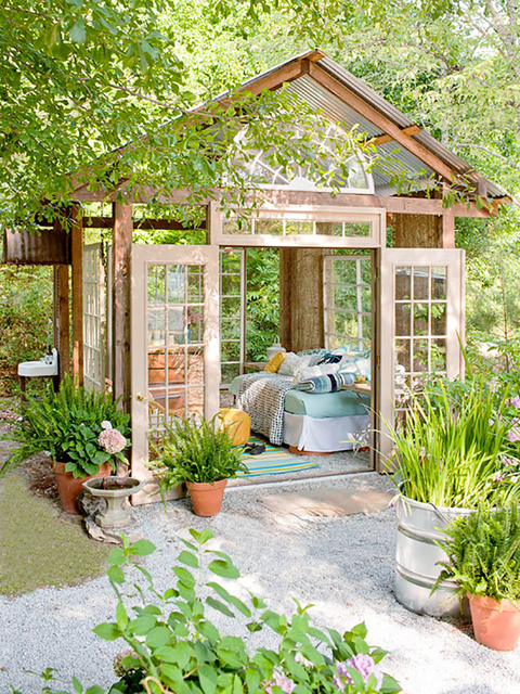 Beautiful backyard shed