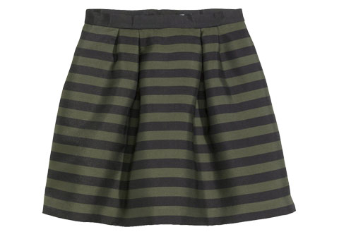 Striped Skirts