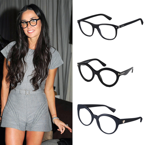 Black Frame Glasses Celebrities Wear : Shop Celebrity-Inspired Eye Glasses InStyle.com