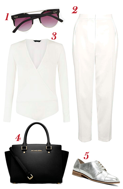 Kendell Jenner- white outfit embed