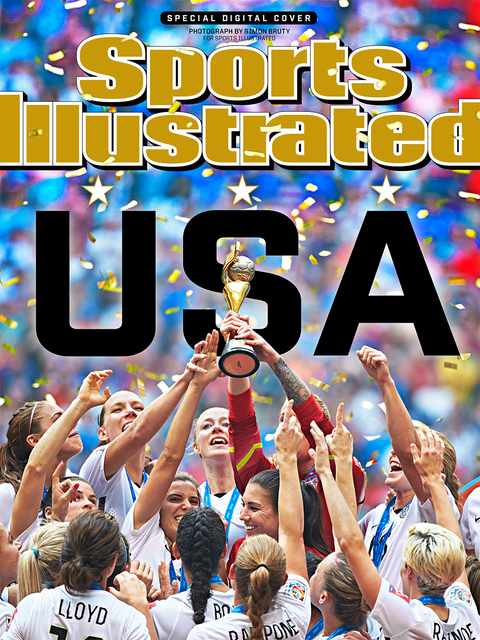Sports Illustrated World Cup Cover