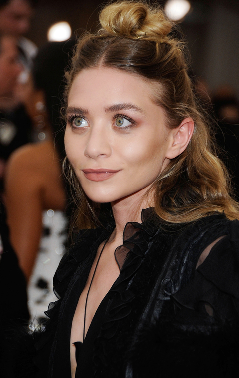 """Ashley Olsen  arrives at """"China: Through The Looking Glass"""" Costume Institute Benefit Gala at the Metropolitan Museum of Art on May 4, 2015 in New York City."""