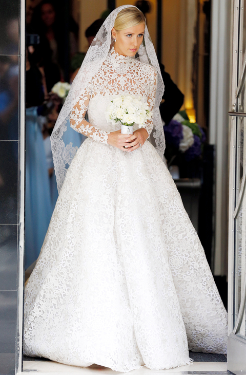 Nicky Hilton Valentino wedding dress