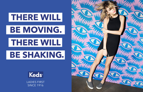 Taylor Swift in Keds Campaign