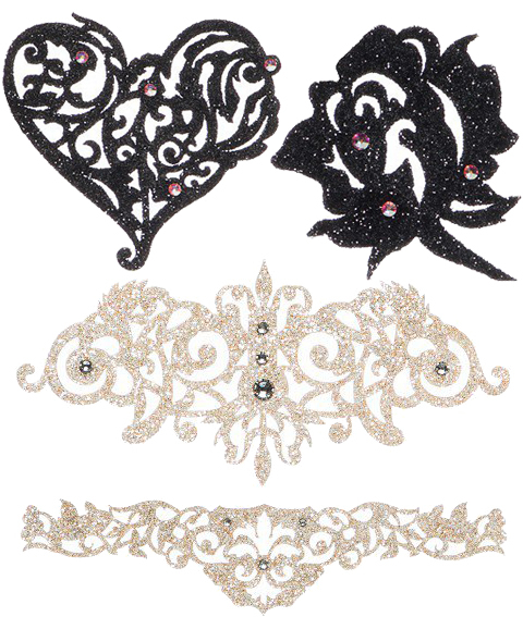 Black Lace Tattoos Embed