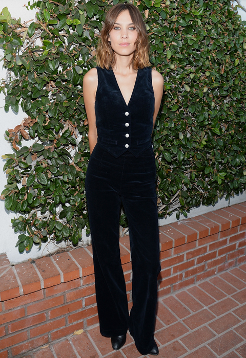 Alexa Chung X AG PA At Ron Herman And Private Dinner At Petit Trois