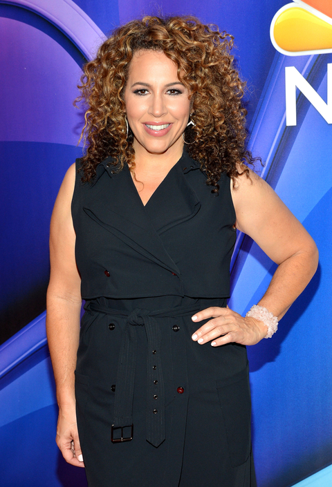 Diana-Maria Riva attends The 2015 NBC Upfront Presentation at Radio City Music Hall on May 11, 2015 in New York City.