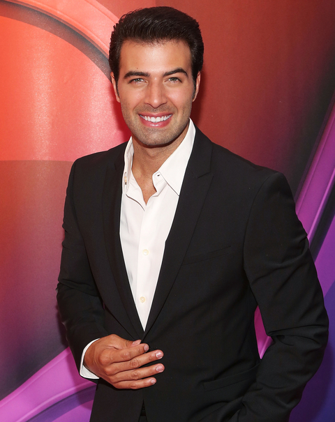 Actor Jencarlos Canela Gosselaar attends the 2015 NBC Upfront presentation red carpet event at Radio City Music Hall on May 11, 2015 in New York City.