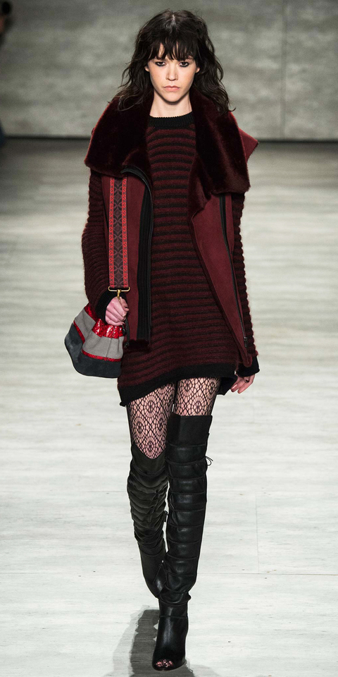 how to wear knee boots for fall instyle