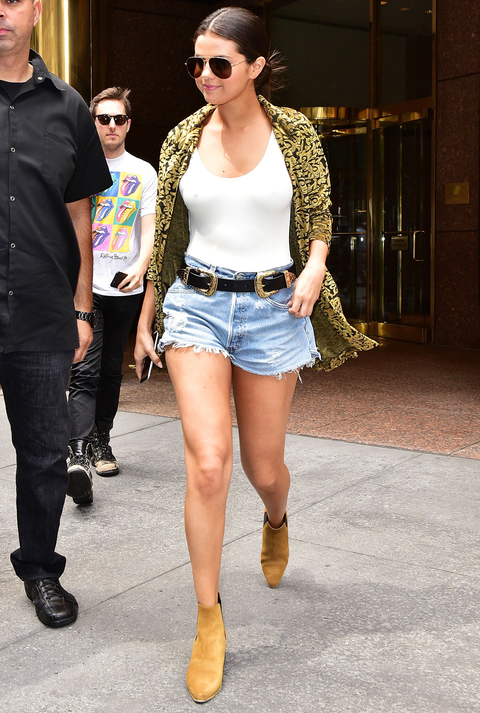 Celebrity Sightings In New York City - June 23, 2015