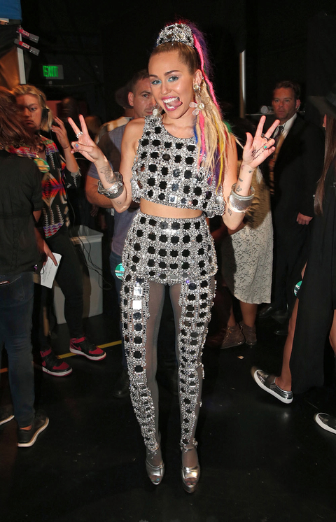 2015 MTV Video Music Awards - Backstage And Audience