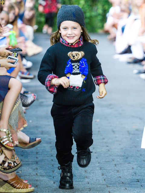 NY: Polo Ralph Lauren Children's Fashion Show