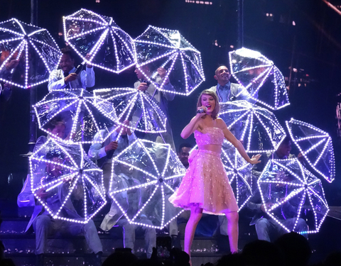 Taylor Swift S Led Light Tour Outfit Instyle Com