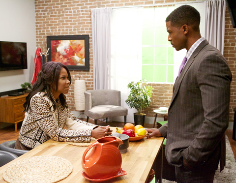 THE HAVES AND HAVE NOTS, (from left): Angela Robinson, Gavin Houston, 'A Southern Brawl', (Season