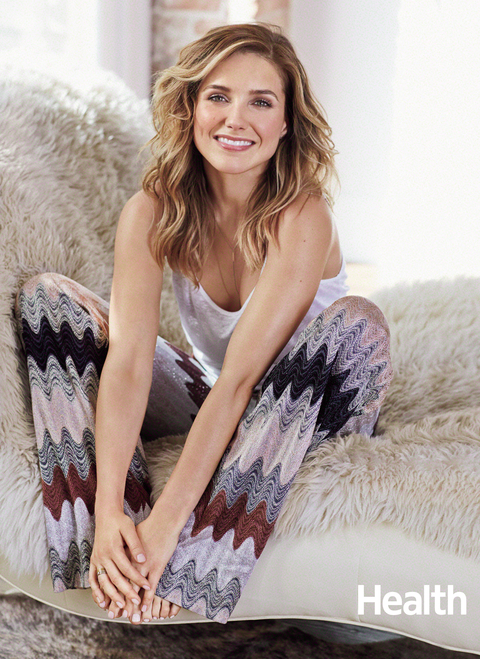 Sophia Bush - Health magazine embed