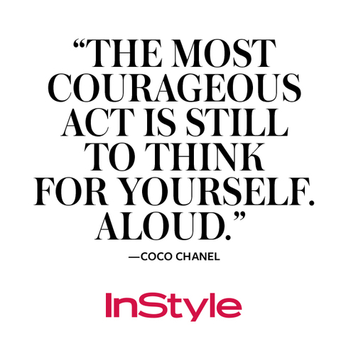 Coco Chanel 9 Memorable Quotes On Her Birthday Instyle
