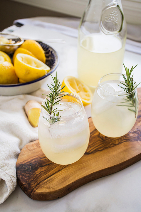 Ginger Lemonade from Port & Fin