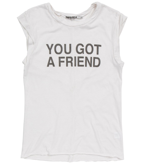 You Got a Friend Tee Embed