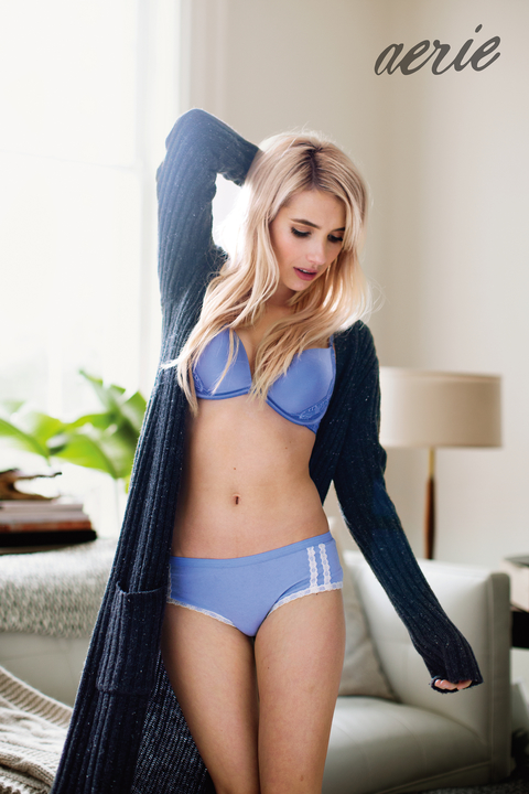 Emma Roberts Aerie Campaign