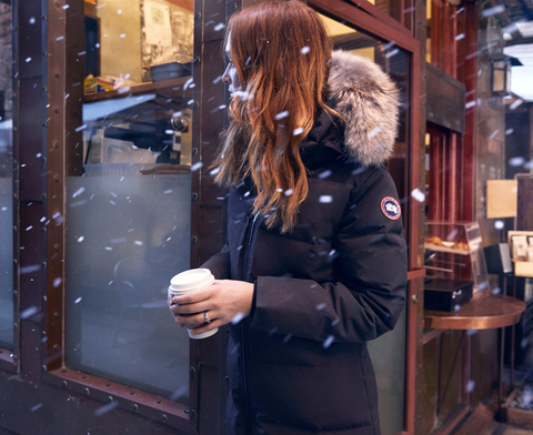 Canada Goose embed