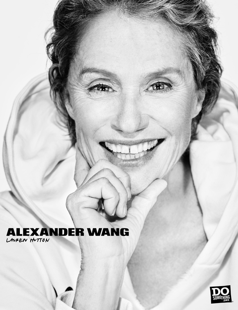 Alexander Wang - Do Something - Lauren Hutton