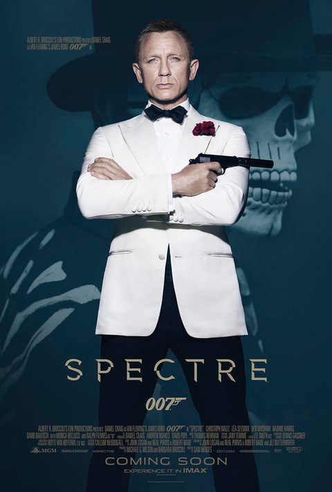 James Bond, Spectre, poster, daniel craig